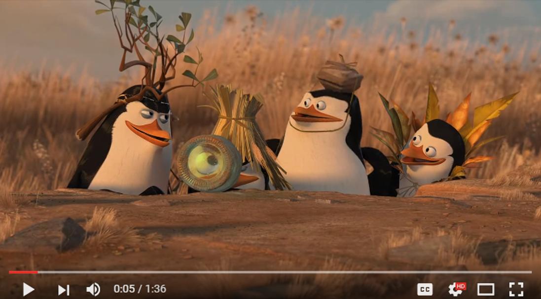 Madagascar Penguins Best And Funniest Team Work Organic
